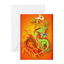 _journal Flaming Dragon-Chinese Year Greeting Card