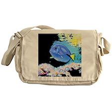 Blue Fish Messenger Bag