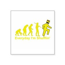 "shuffl_evo2 Square Sticker 3"" x 3"""