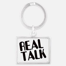 Real Talk Landscape Keychain