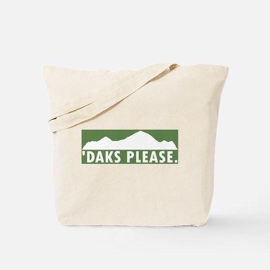 Daks Please Tote Bag