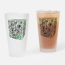 qr_borg Drinking Glass