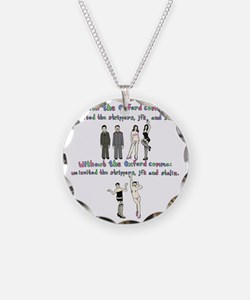 oxford comma Necklace