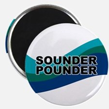 Sounder Pounder Magnet