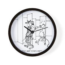 4648_lab_cartoon Wall Clock