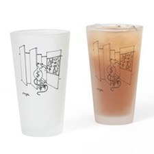 4647_lab_cartoon Drinking Glass