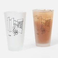 4647_lab_cartoon Drinking Glass
