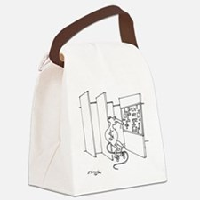 4647_lab_cartoon Canvas Lunch Bag