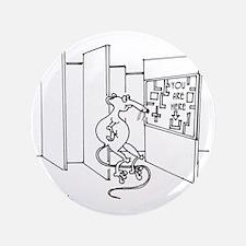 """4647_lab_cartoon 3.5"""" Button"""