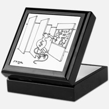 4647_lab_cartoon Keepsake Box