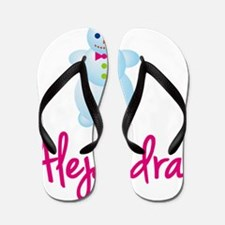 Alejandra-the-snow-woman Flip Flops