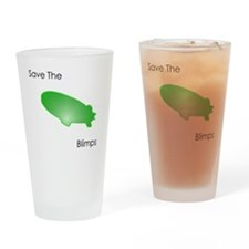 save the blimps Drinking Glass