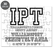 AIRPORT CODES - IPT - WILLIAMSPORT,PENNSYLV Puzzle