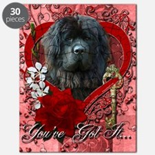 Valentine_Red_Rose_Newfoundland Puzzle