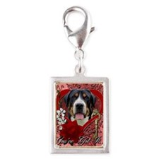 Valentine_Red_Rose_GreaterSw Silver Portrait Charm