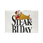 Steak & BJ Day Rectangle Magnet (10 pack)