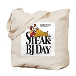 Steak & BJ Day Tote Bag