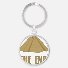 The End Round Keychain