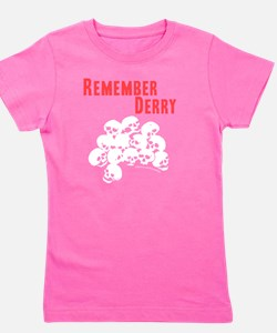 Remember Derry Neutral Girl's Tee