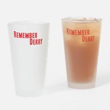 Remember Derry Neutral Drinking Glass