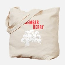 Remember Derry Neutral Tote Bag