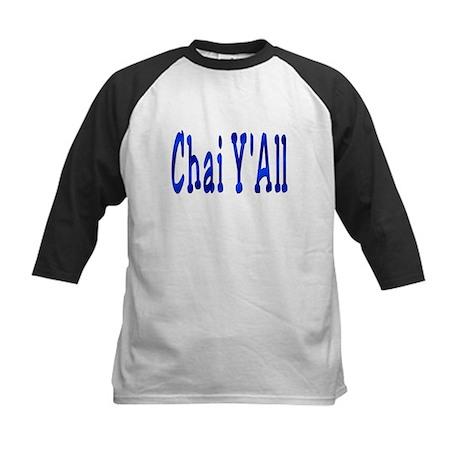Chai Y'All Hi Kids Baseball Jersey