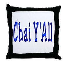Chai Y'All Hi Throw Pillow