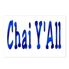 Chai Y'All Hi Postcards (Package of 8)