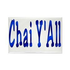Chai Y'All Hi Rectangle Magnet