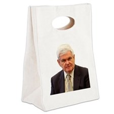 Newt Gingrich Canvas Lunch Tote
