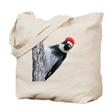 Acorn Woodpecker Bird T-Shirt Tote Bag