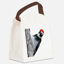 Acorn Woodpecker Bird T-Shirt Canvas Lunch Bag