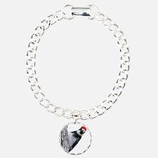 Acorn Woodpecker Bird T- Bracelet
