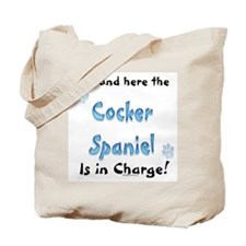 Cocker Spaniel Charge Tote Bag