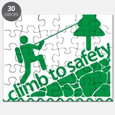 Don't Panic, Climb to Safety Puzzle