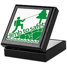 Don't Panic, Climb to Safety Keepsake Box