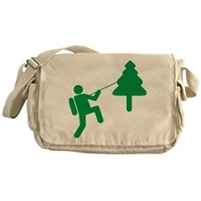 Don't Panic, Climb to Safety Messenger Bag