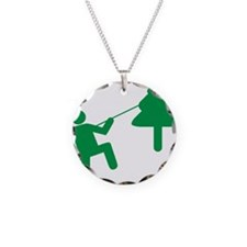 Don't Panic, Climb to Safety Necklace