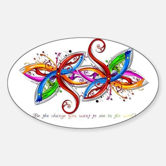 laptop_skin Sticker (Oval)