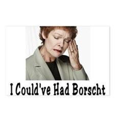 Could've Had Borscht Postcards (Package of 8)