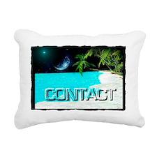 CONTACT Rectangular Canvas Pillow