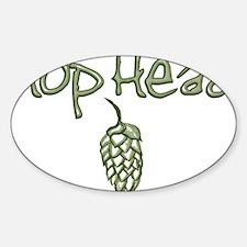 hopheadfinal Sticker (Oval)