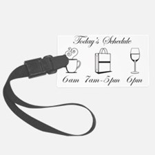 wine1 Luggage Tag