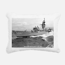 emontgomery de framed pa Rectangular Canvas Pillow
