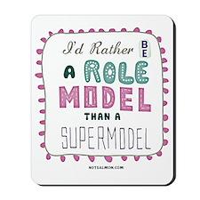 tee shirt role model Mousepad