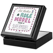 tee shirt role model Keepsake Box