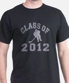 Class Of 2012 Hockey - Grey 2 D T-Shirt