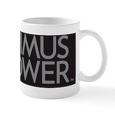 PP Logo black background large Mug