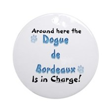 Dogue Charge Ornament (Round)