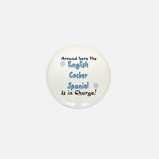 English Cocker Charge Mini Button